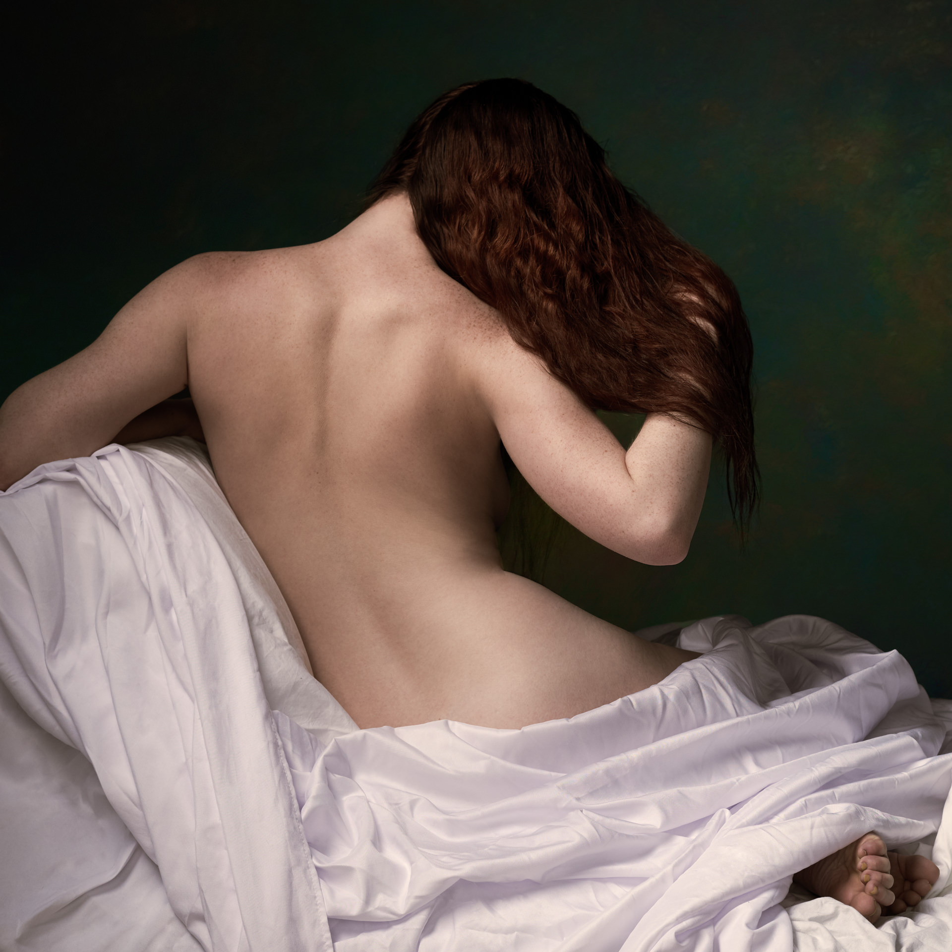 Artistic boudoir portraits by Louisville Photographer Ben MArcum