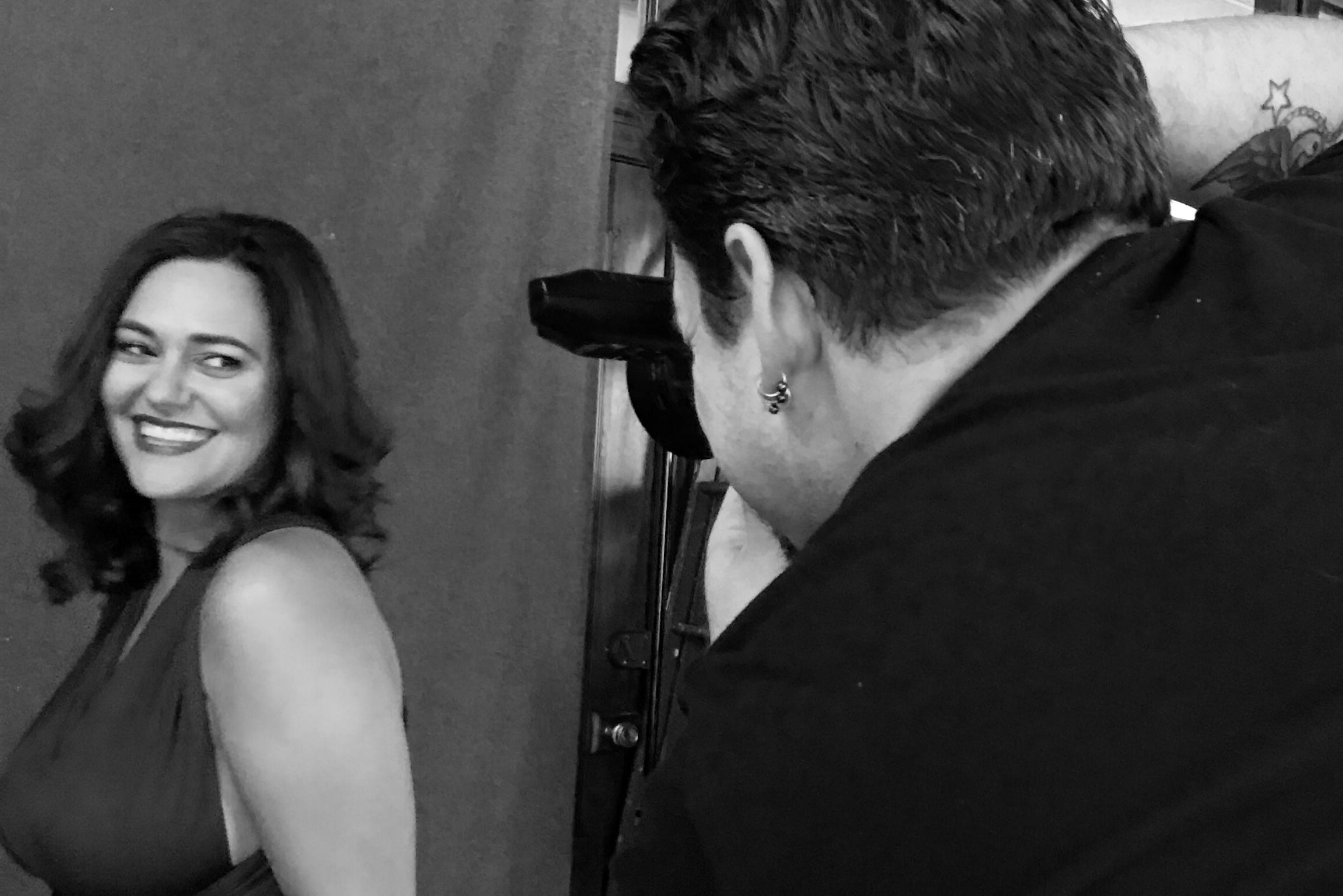 Behind The Scenes o fJEssica Piasta's Portrait Session With Louisville Portrait Photographer Ben Marcum