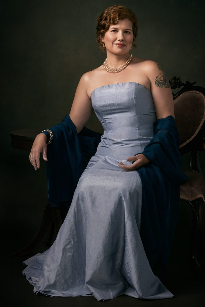 Portrait of Heather Fleing by Louisville Portrait Photographer Ben Marcum
