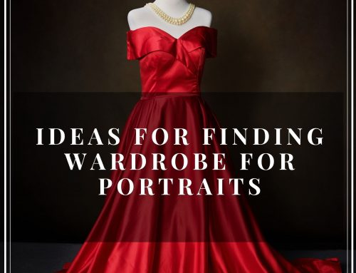 Ideas for sourcing wardrobe for portraits